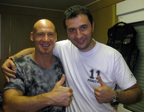 Водещият Васко и Ralf Sheepers - Primal Fear