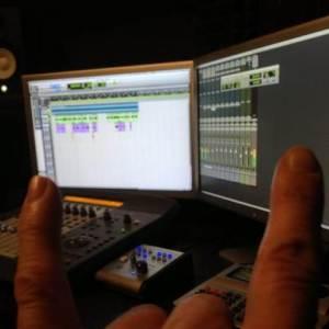 В студиото