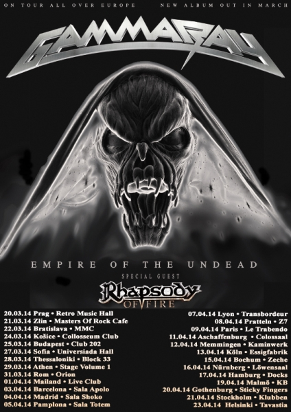 news_Gamma RAY Tour Vision Empire of the Undead