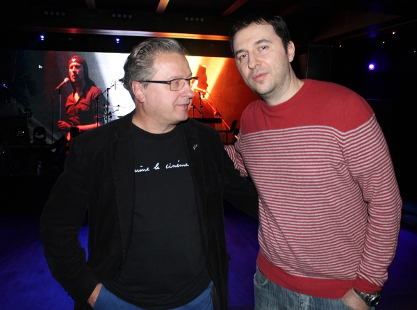 Водещият Васко и Ivan Novak - Laibach