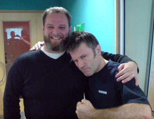 Joel McIver и Bruce Dickinson, 12 август 2008 г.