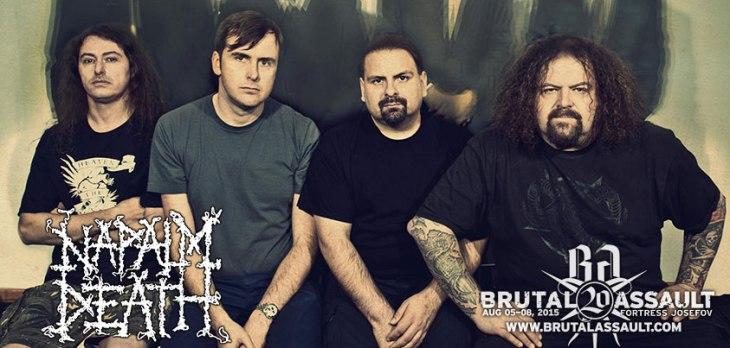 Napalm Death at Brutal Assault 2015