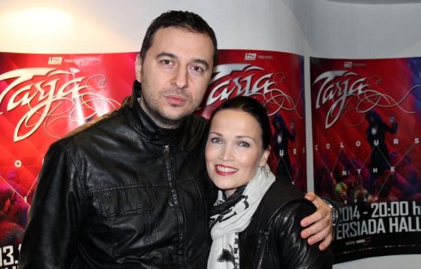 Водещият Васко и Tarja Turunen