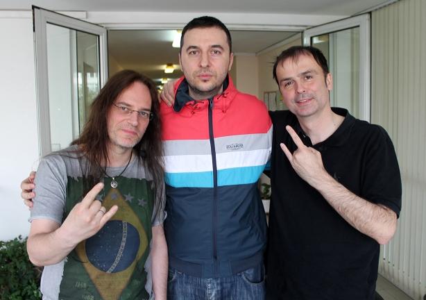 Водещият Васко и Blind Guardian