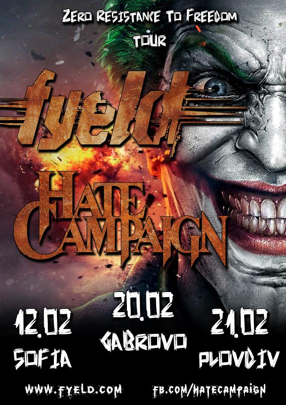 Fyeld and Hate Campaign mini-tour