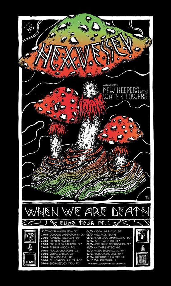 Hexvessel Tour Poster