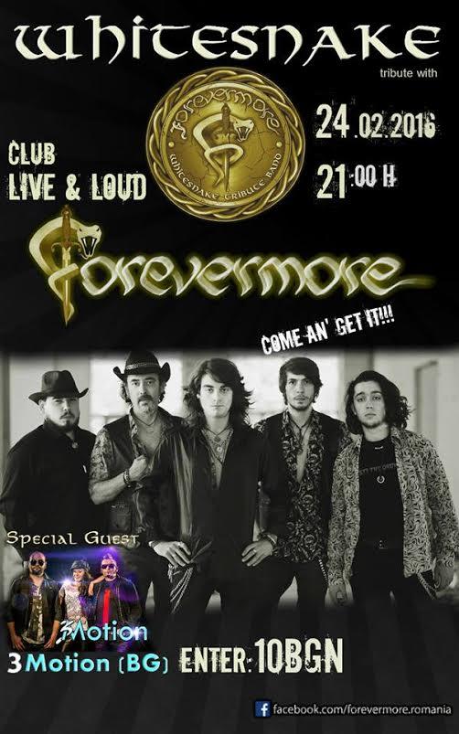 Forevermore Whitesnake Tribute Band