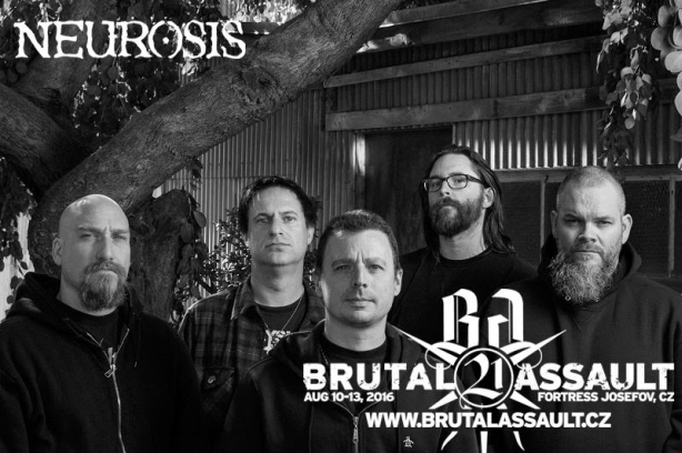 Neurosis at Brutal Assault 2016