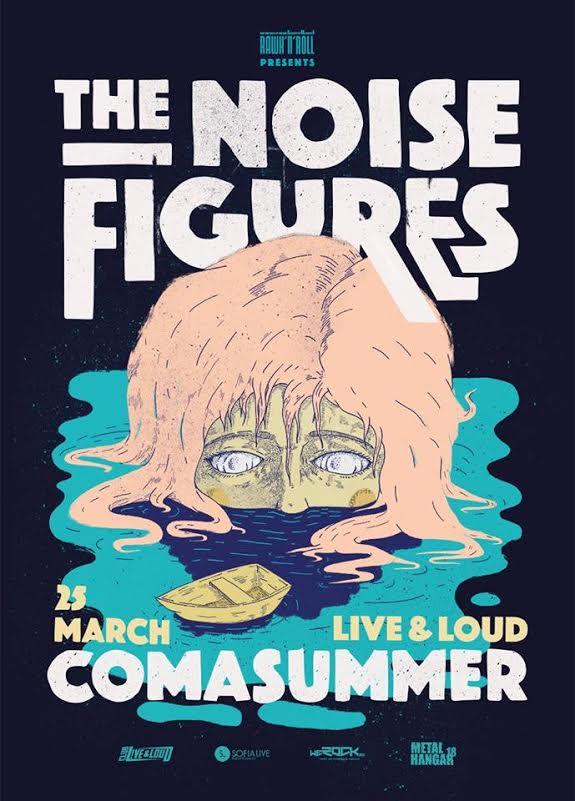 The Noise Figures и Comasummer в Live & Loud