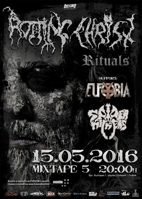 Rotting Christ, Eufobia and Spider Kickers in Sofia