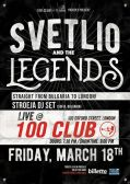 Svetlio and The Legends in The 100 Club -London