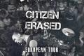 Grimze and Citizen Erased tour poster