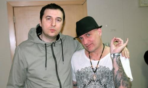 Водещият Васко и Johan Edlund - Tiamat