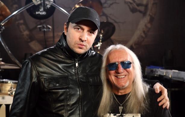 Водещият Васко и Mick Box - Uriah Heep