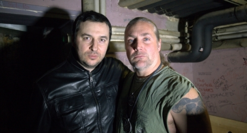 Водещият Васко и Morgan Hakansson - Marduk