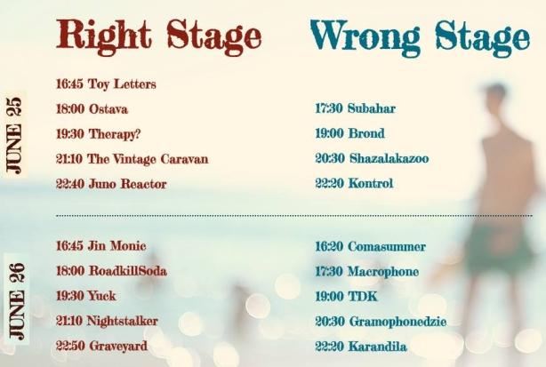Програмата на Wrong Fest 2016