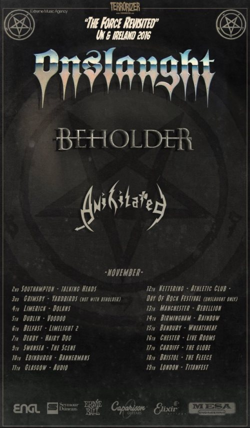 Onslaught on tour