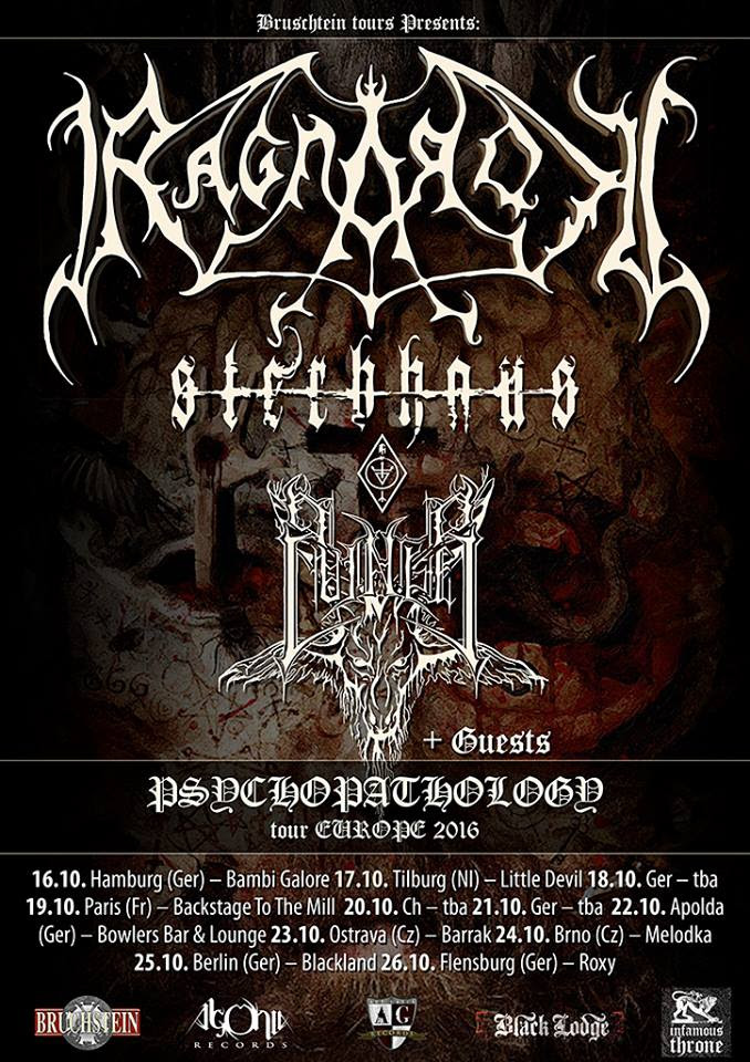 Ragnarok on tour