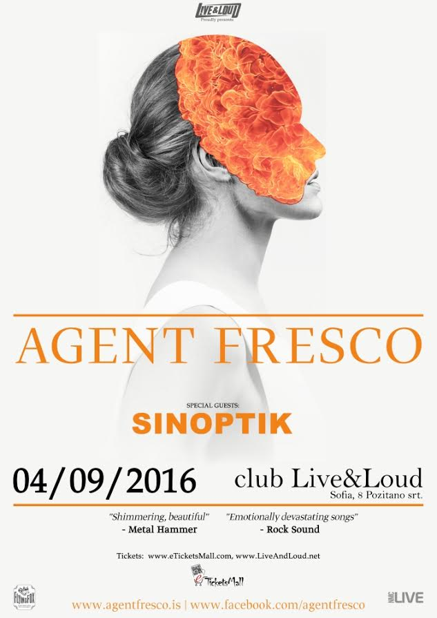 Agent Fresco and Sinoptik live in Sofia