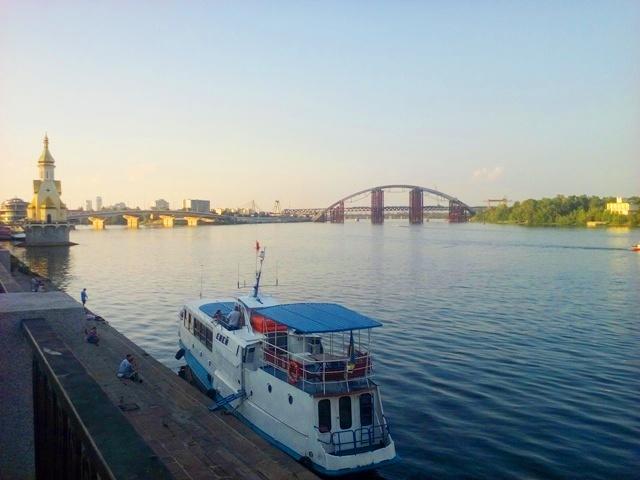 Воден трамвай в Киев