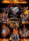 AC/DC, Metallice and Motorhead tribute