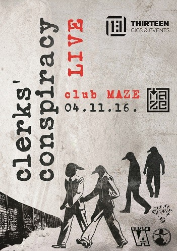 Clerks' Conspiracy live in Sofia