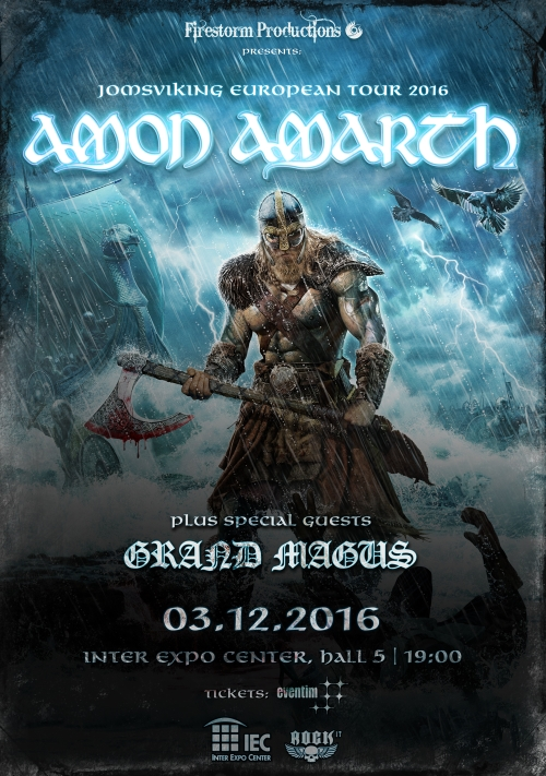 Amon Amarth live in Sofia