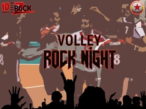 Volley Rock Night
