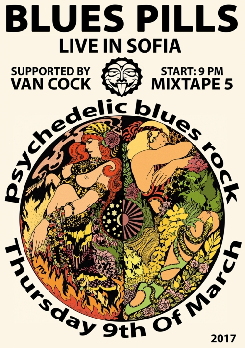 Blues Pills and Van Cock in Sofia