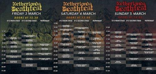 Netherlands Death Fest 2017
