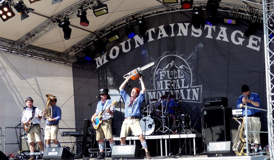 Blechblosn at Mountain Stage