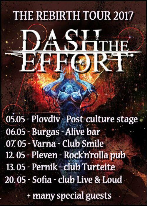 Dash The Effort - The Rebirth Tour 2017