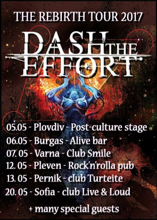 Dash The Effort - The Rebirth Tour 2017