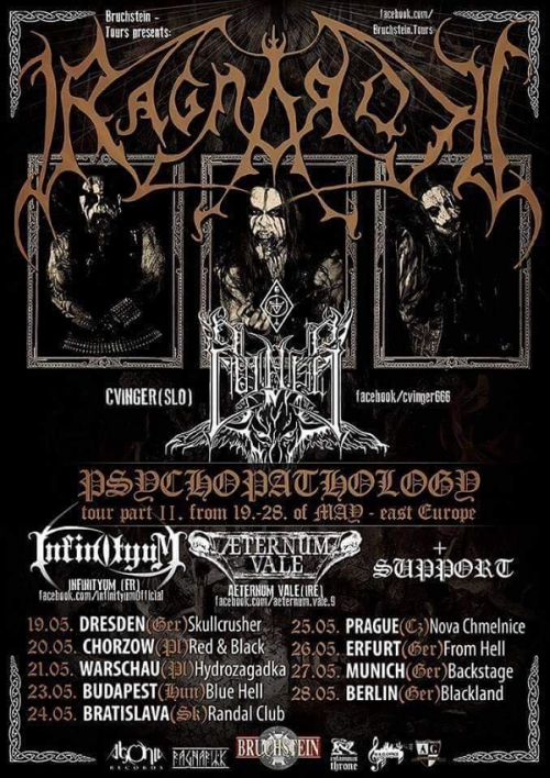Ragnarok - Psychopathology Tour 2017