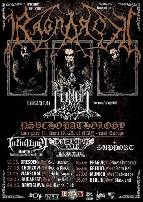 Ragnarok - Psychopathology Tour 2017