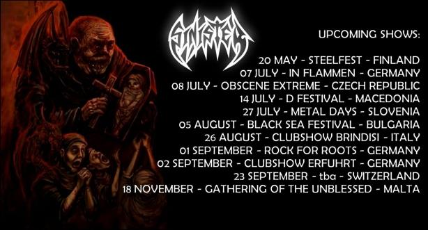 Sinister Tour 2017