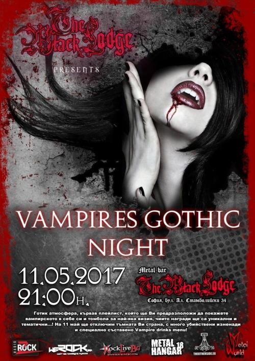 Vampires Gothic Night в The Black Lodge