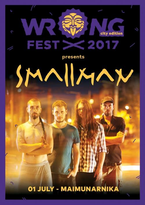 Smallman at Wrong Fest 2017