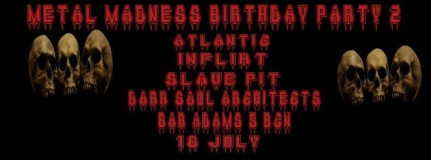Metal Madness Birthday Party