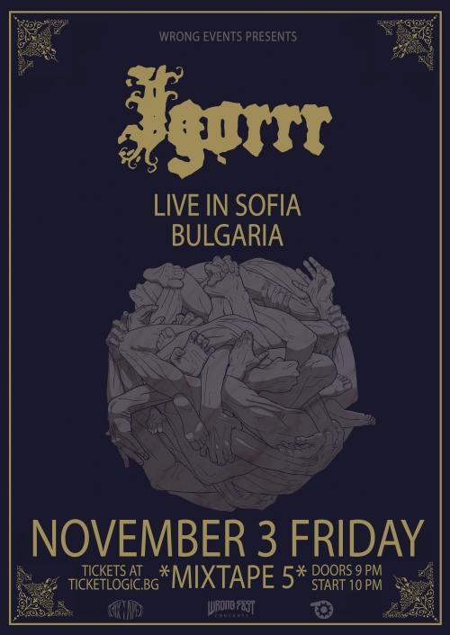 Igorrr live in Sofia