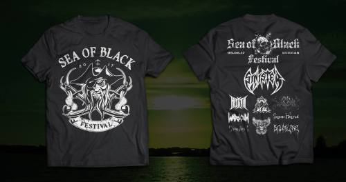Sea Of Black Festival 2017 Official T-Shirt