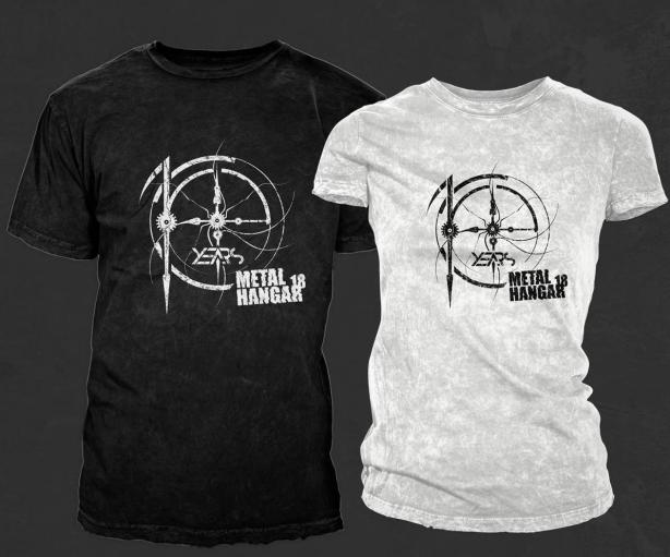 10 years Metal Hangar 18 t-shirt