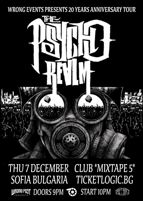 The Psycho Realm live in Sofia