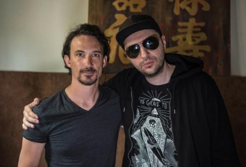 Водещият Васко и Joe Duplantier - Gojira