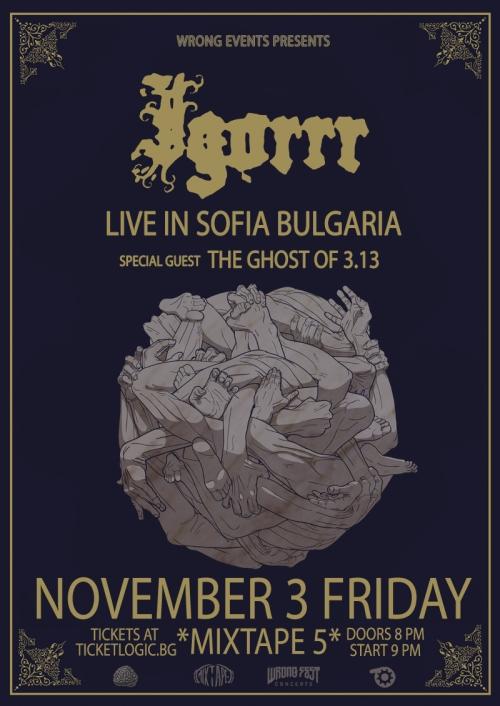 Igorrr и The Ghost of 3.13 с концерт в София