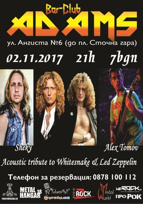 Акустичен трибют на Whitesnake и Led Zeppelin