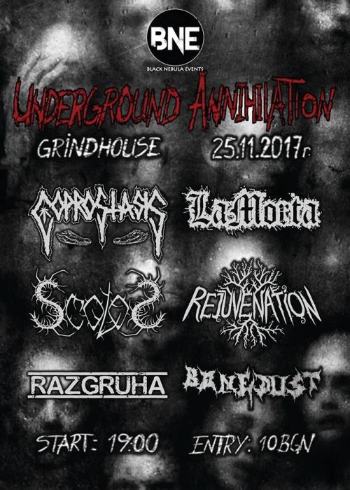 Underground Annihilation 2017