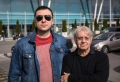 Водещият Васко и Ian Paice - Deep Purple