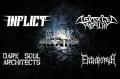 Концерт на Inflict, Distorted Reality, Dark Soul Architects, Enthropya в Адамс