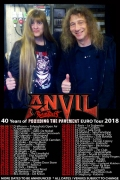 Anvil & Rampart Tour poster